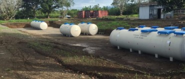 Igam Barracks Sewage Treatment Plant in PNG
