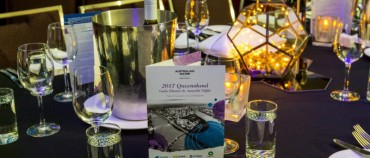 Awards night with the Australia Water Association