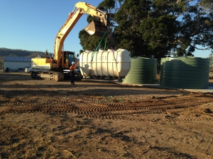 Sewerage Treatment Plant Installation at Mingo Crossing Caravan Park