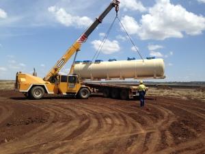 Kubota 50KL Sewerage Treatment Plant