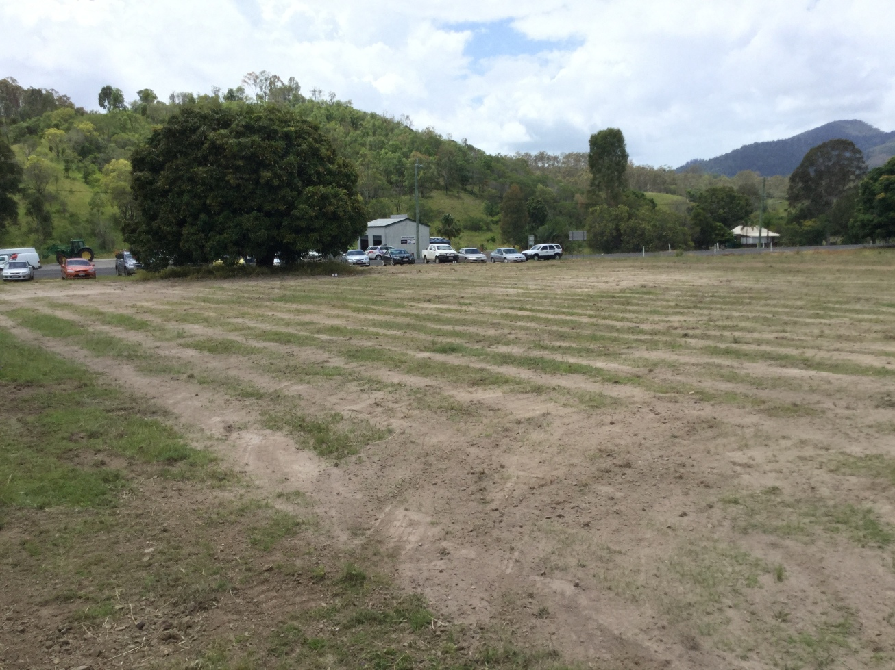 Mt Perry Completed Irrigation System for sewage system