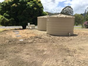 North Burnett completed sewage treatment plant and Wet Weather Storage Tanks