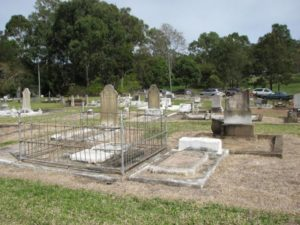Mt. Morgan Heritage listed cemetery