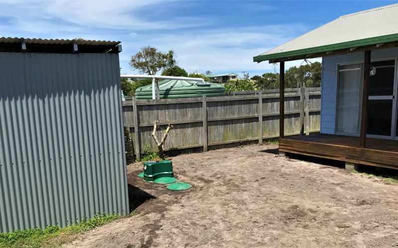 Custom install complete in unique coastal location
