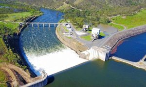 Gladstone Area Water Board owned and operated Awoonga Dam
