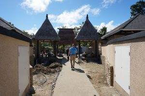 Work in progress, soon the beautiful Fijian architecture will be the main feature again.