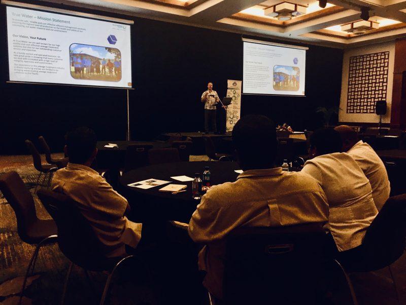 Presenting A Wastewater Management Seminar At Hotec