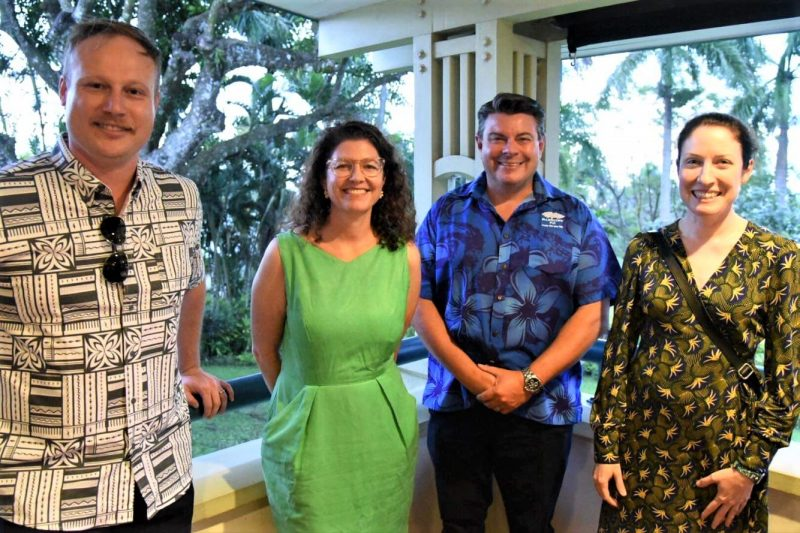 General Manager of True Water, Dale James attending the Fiji Water Technologies Mission with AusTrade