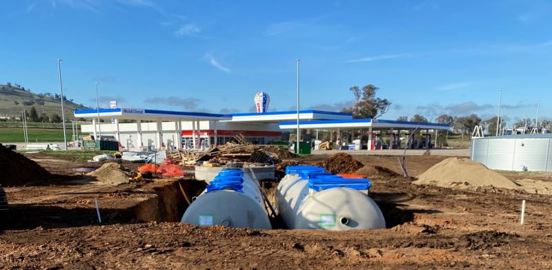 Wastewater Treatment for Service Station on the Hume Highway
