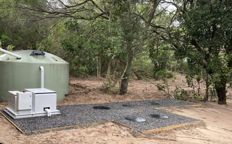 Eurong Amenities Wastewater System Upgrade