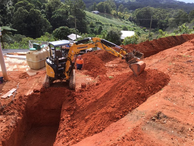 True Water has highly skilled technicians and the rights equipment to make sure the installation of the Fuji Clean home sewage treatment plant is completed with precision and little disruption to the rest of the site.
