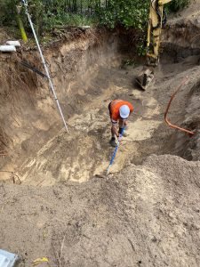 Every step of the Sewage Treatment System installation is completed with care and precision by our qualified team.