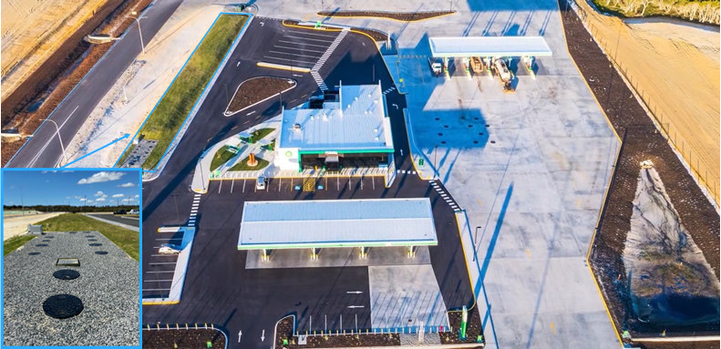 True Water completes wastewater treatment system for states largest Truck Stop at Muchea, WA