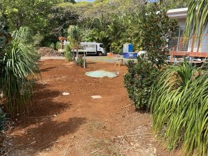 Primary treatment via a septic tank and disposal via ETA beds for this granny flat at Little Gem Nursery
